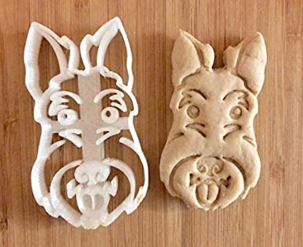 Scottish Terrier Cookie Cutter and Dog Treat Cutter - Dog Face