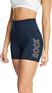 Rockwear Activewear Women's Logo Pocket Mid Thigh Tight from Size 4-18 for Mid Thigh Tight Bottoms Leggings + Yoga Pants+ ...