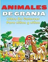 Animales De Granja, Libro de Colorear Para Niños y Niñas