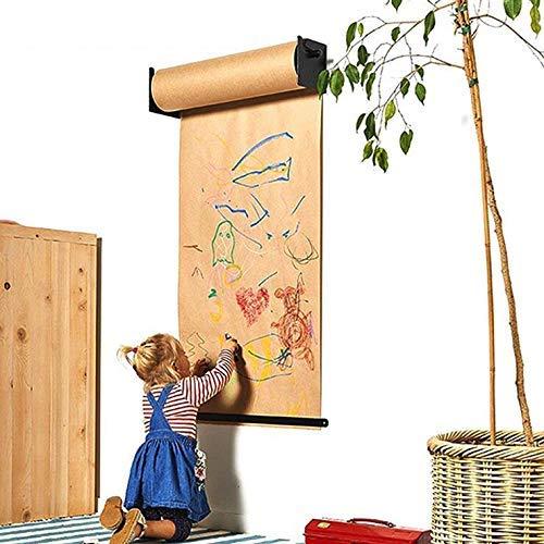GHDE& DIY Tekening Note Kraft Papier Roll 26 Inch Muur gemonteerde Hangende Easel voor Kinderen Slaapkamer, Artiest Studio, Woonkamer, Studeerkamer, Café Shop