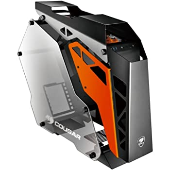 Cougar CONQUER ATX Gaming Case - / Mini ITX / Micro ATX PC Case / ATX Computer Case- Mid Tower -Tempered Glass - Fan and Water Cooling Support