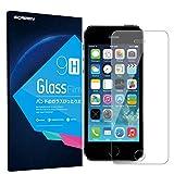 iPhone SE/5S/5/5C Screen Protector Glass Guard TUGOO Premium Tempered Glass Screen Protector for iPhone SE/5S/5/5C