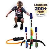 Marky Sparky Blast Pad Rocket Launcher Shoots Over 200 Feet High
