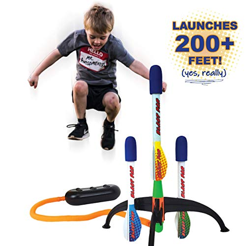Image of the Marky Sparky Blast Pad Rocket Launcher Shoots Over 200 Feet High