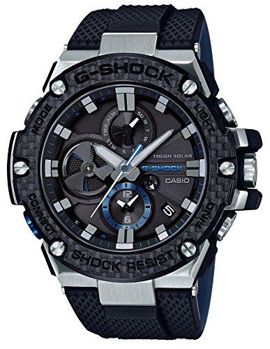 [カシオ] 腕時計 ジーショック G-STEEL スマートフォン リンク カーボン ベゼル GST-B100XA-1AJF メンズ