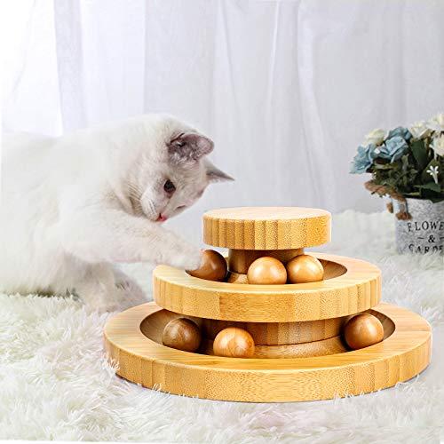 Gato Turntable, Juguetes para Gatos,...