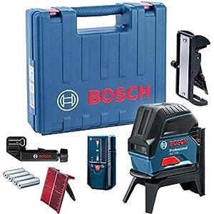Bosch Professional GCL 2-50 – Nivel láser (alcance 20 / 50 m, láser rojo, en maletín)