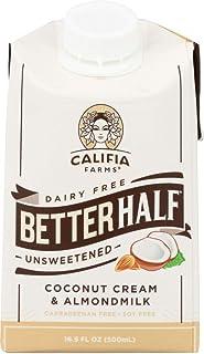Califia Farms (NOT A CASE) Better Half Unsweetened Coconut Cream & Almond Milk