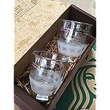 2個セット ペア ダブルウォールグラス スターバックス スタバ 福袋 サイレン チェック ウィンター マグカップ マグ ロゴ
