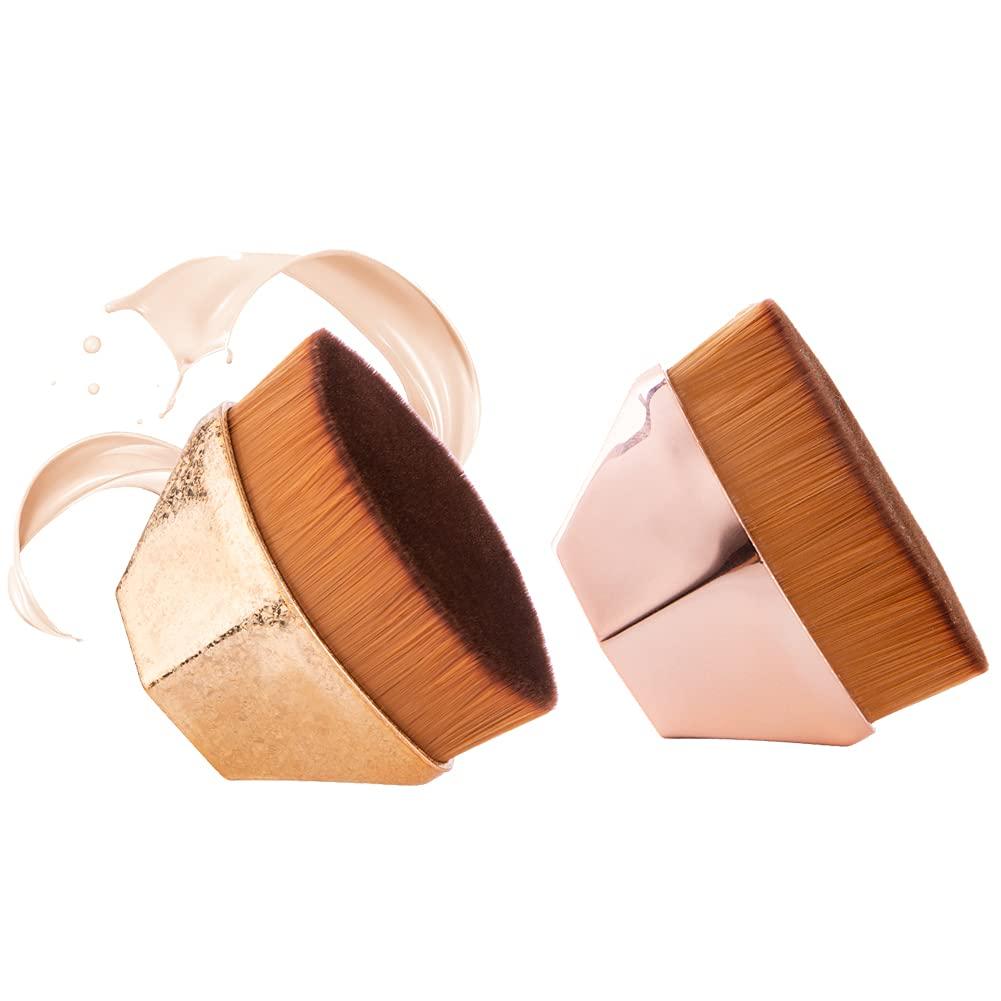 Foundation Makeup Brush Flat Top Blush Petal-shaped High quality Face New Shipping Free Kabuki