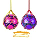 3 piezas de fútbol para entrenamiento de fútbol solo pelota de fútbol de la red entrenamiento de fútbol con manos libres pelota de fútbol elástica para entrenamiento de malabares voleibol herramienta