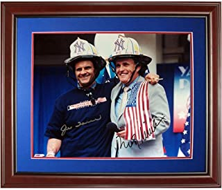 Joe Torre and Rudy Giuliani Dual Autographed