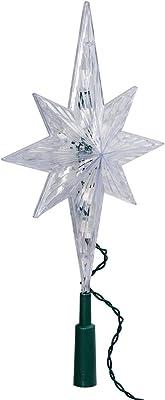 Kurt Adler 10 Light Indoor 11-Inch Bethlehem Star Treetop