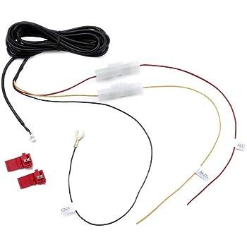 【エレワークス】 コムテック(COMTEC) ドライブレコーダー用 駐車監視・電源直結配線コード HDROP-14 代用品