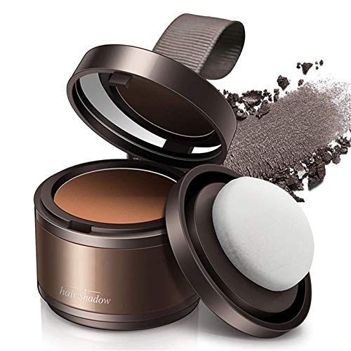 NaEan InstantMax Volumizing Cover Up Powder,Volume Up Hair Styling Powder,Magical Fluffy Thin Hair Powder Hair Line Shadow Makeup Hair Concealer Root Cover Up Instant Coverage (Brown)