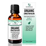 Essential Oil Breathe Blend for Diffuser, Humidifier, Aromatherapy & Rub with Peppermint & Eucalyptus Oils | for Headache, Allergy & Congestion