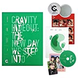 CRAVITY Season2. Album - HIDEOUT : The New Day We Step Into [ Ver. 3 ] CD + Photobook + Photo Cards + Sticker + FREE GIFT / K-POP Sealed