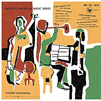 Kirchner: Sting Quartet No. 1 - Fine: String Quartet (1952) (Remastered)