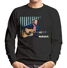 TV Times Val Doonican Playing Guitar 1972 Men's Sweatshirt