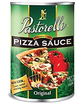 Pastorelli Pizza Sauce Italian Chef 15-Ounce  Pack of 12  by Pastorelli