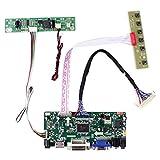 HDM I VGA DVI Audio LCD placa controladora M.NT68767 para M170ETN01.1 17' 19' M190ETN01.0 1280x1024 pantalla LCD, para bricolaje Arcade 1UP