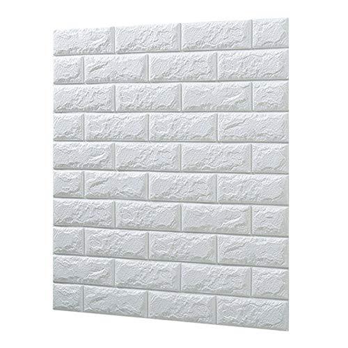 Iycorish 10 piezas de espuma 3D para azulejos de pared, autoadhesivas, para decoración