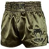 Venum Classic Short de Muay Thai Mixte Adulte, Kaki/Or, FR : S (Taille Fabricant : S)