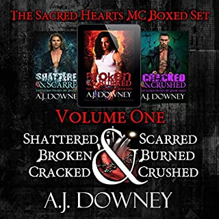 The Sacred Hearts MC Box Set: Volume 1 audiobook cover art