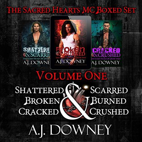 The Sacred Hearts MC Box Set: Volume 1 audiobook cover art