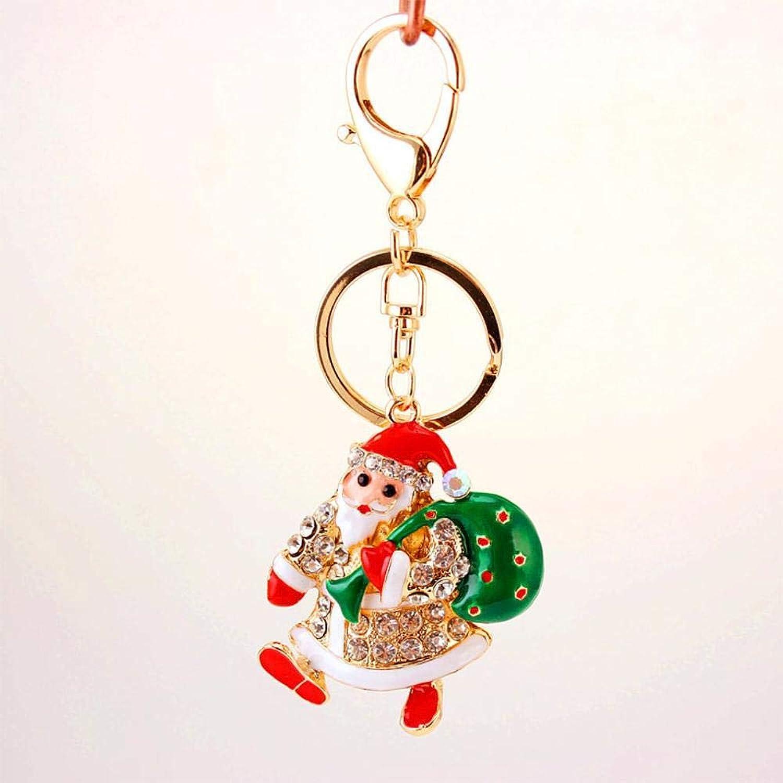 Yunfeng Yunfeng Yunfeng Niedliche schlüsselanhänger Santa Claus Schlüsselbund Heiligabend Geschenk Auto Ornamente B07JKYKBR9 c66954