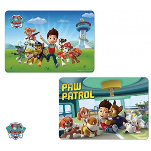Nickelodeon - PAw Patrol - Kinder Geschenkidee - Tisch Matten, Modell sortiert