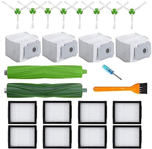 SDFIOSDOI Piezas de aspiradora Piezas de Repuesto adecuadas para Irobot Fit para Roomba; E I7 I7 I7 + i3 i3 + i4 i6 i6 + i8 i8 + / Plus E5 E6 E7 Cleaner Fit para Irobot I7 Accesorio (Color : Black)