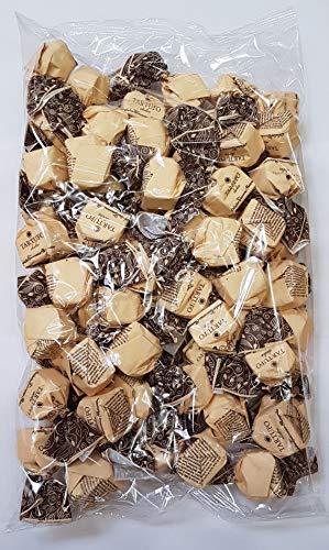 Tartufo dolce nero | von Antica Torroneria Piemontese | Edle Trüffel-Praline aus Italien | Feine Trüffel mit Zartbitterschokolade und Piemont Haselnüssen | 1 kg Großpackung | Glutenfrei