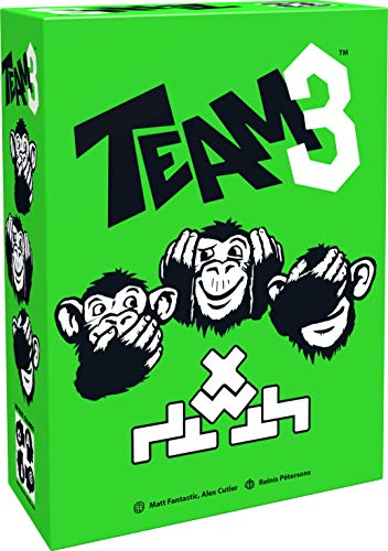 BRAIN GAMES TEAM3 Green Board Game - A Thrilling Party Game