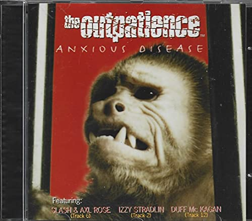 The Outpatience - Cd Anxious Disease - 1996