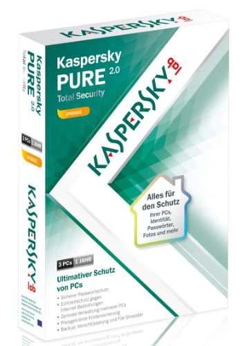 Kaspersky Pure 2.0 Total Security Upgrade [import allemand]