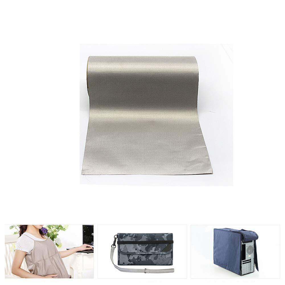 Tela de protección contra cuadros gruesos antideslizantes de 1,1 m de ancho Alta efectividad de blindaje Tela de bloqueo rfid para sala de blindaje,3m: Amazon.es: Hogar