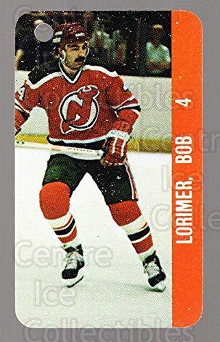 (CI) Bob Lorimer, Joel Quenneville Hockey Card 1983-84 NHL Key Tags 72 Bob Lorimer, Joel Quenneville
