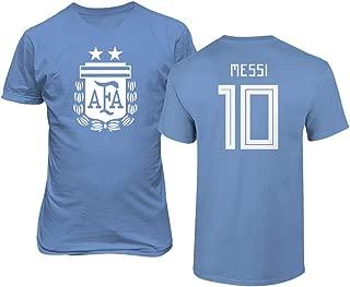 National Soccer 2019 Argentina #10 Lionel Messi Copa America T-Shirt