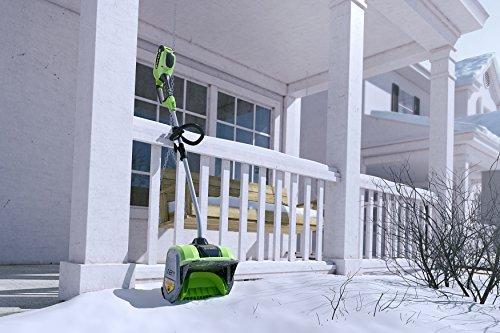 Snowy? Frosty? No problemo with an electric snow shovel 15