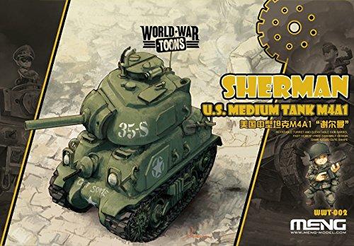 Meng WWT de 002 – Maqueta de U.S. Medium Tank m4 a1