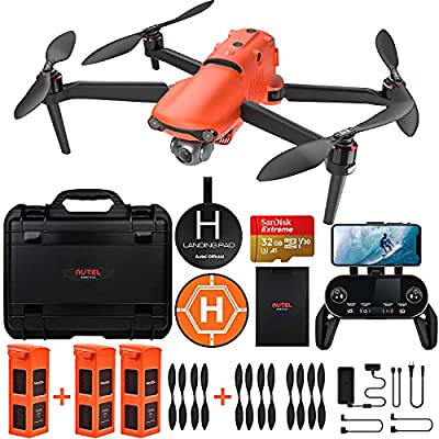 Autel Robotics EVO 2 Drone 8K HDR Video for Professionals Rugged Bundle with £398 Value Accessories Kit from Autel