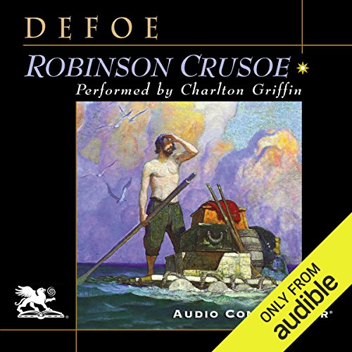 Robinson Crusoe                   By:                                                                                                                                 Daniel Defoe                               Narrated by:                                                                                                                                 Charlton Griffin                      Length: 12 hrs and 8 mins     1 rating     Overall 4.0