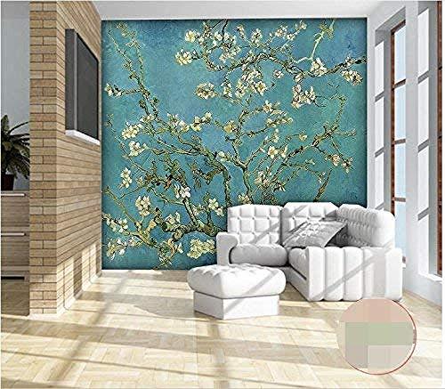 Mssdebz 3D Behang aangepaste 3D Fotobehang voor de woonkamer Muurschildering Van Goghs beroemde schildering 450cmx300cm