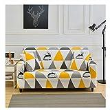 wjwzl Sofabezug, Eine Polyesterfaser, Elastische Mehrfarbige Spleißschutzhülle Für Die Meisten Hausbezüge 90-135 cm