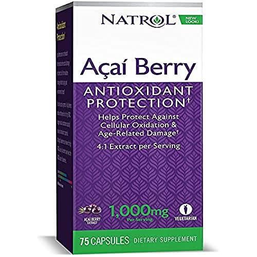 Natrol Acai Berry 1000mg Standard - 75 Cápsulas
