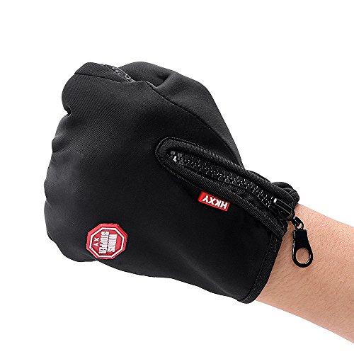 IMmps Guantes de Invierno con Pantalla táctil Guantes Deportivos de Moto más vendidos Guantes de equitación Ski Wind Gloves-T1864M