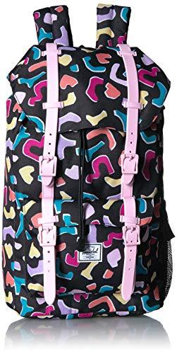 Herschel Kids' Little America Laptop Backpack, Fiesta/Pink Lady, Youth 18.0L