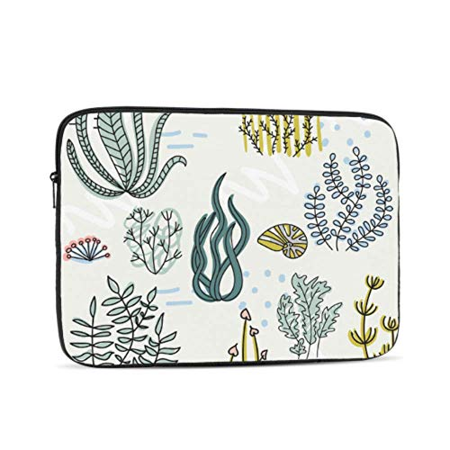Laptop Sleeve Case 17 Inch Cartoon Marine Underwater Pattern Laptop Sleeve/notebook Computer Pocket Case/tablet Briefcase Carrying Bag