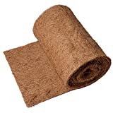 Decorlife 120'×12' Coco Liner Roll, Thick and Sturdy Coconut Fiber Mat for Planters and More